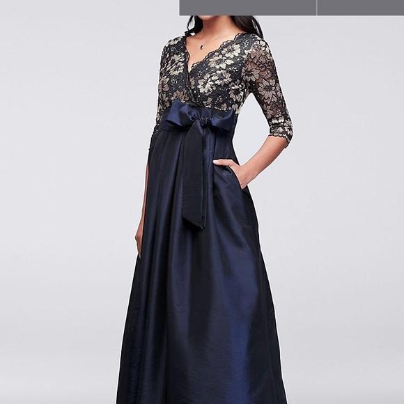 20a31f280853 Jessica Howard Dresses & Skirts - David's Bridal size 14 floor length dress